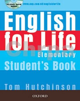 Tom Hutchinson: English for Life Elementary Student´s book + MultiROM Pack cena od 413 Kč