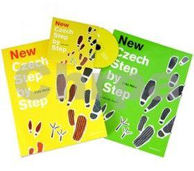 Lída Holá: New Czech Step by Step (učebnice se slovníčkem, pracovní sešit Activity Book a CD) – 5. vydání cena od 656 Kč