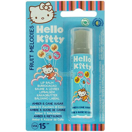 Hello Kitty Fruit Melodies Balzám Na Rty Jantar a Cukr 5,7ml