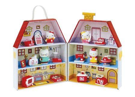 EPEE Hello Kitty Papírový domeček cena od 499 Kč