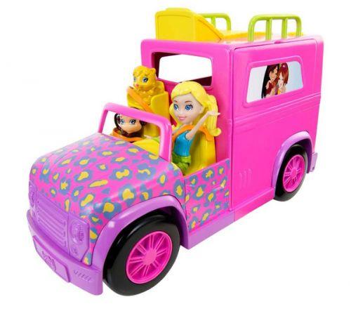 MATTEL Polly Pocket - Safari limuzína cena od 0 Kč