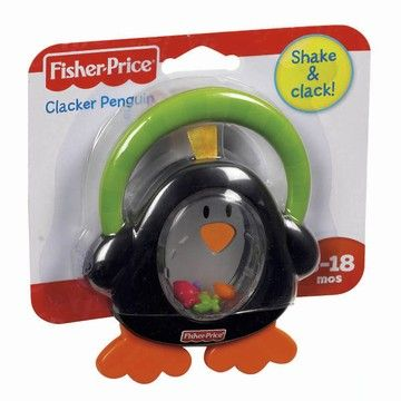 Fisher Price Chrastítko tučňák cena od 0 Kč