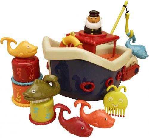 B.toys Loď s kapitánem Fish & Splish cena od 589 Kč