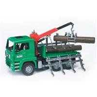 Bruder Nákladní auto MAN - přepravník dřeva cena od 698 Kč