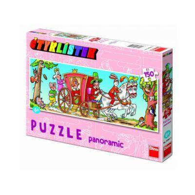 Čtyřlístek - puzzle Panoramic 150 dílků cena od 155 Kč