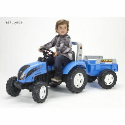 Falk Traktor Landini šlapací s valníkem