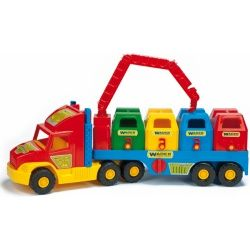 Wader Super Truck popelářský vůz 36530