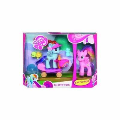 Hasbro My Little Pony rainbow dash na skútru cena od 231 Kč