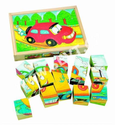 WOODY Kubus 3x5 Veselé autíčko cena od 229 Kč