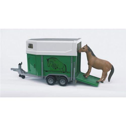 Bruder přívěs pro koně+kůň cena od 0 Kč