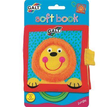 Galt: Dětská knížka látková V džungli cena od 0 Kč