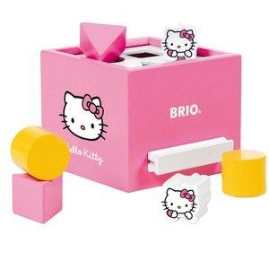 Brio Hello Kitty krabice na procvičování tvarů (7312350323122)