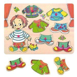 Woody Oblékání na desce Sebastian (8591864903207) cena od 109 Kč
