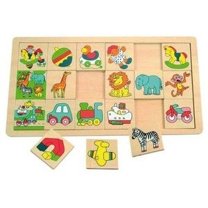 Woody Puzzle na desce Žirafa Suzie (8591864903214) cena od 138 Kč