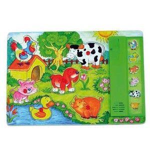 Woody Muzikální puzzle Zvířátka cena od 189 Kč