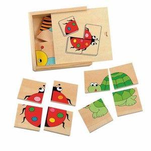 Woody Minipuzzle Beruška (8591864903283) cena od 95 Kč