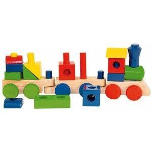 Woody Skládací nákladní vlak (8591864908271) cena od 198 Kč