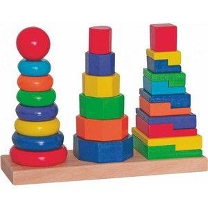 Woody Set skládacích věží (8591864908363) cena od 357 Kč