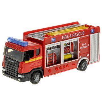 Alltoys Nakládní auto Požárníci cena od 129 Kč