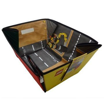 ZipBin Rozkládací herní přenosný box LEGO CITY