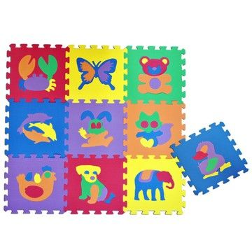 Alltoys Pěnnové puzzle Zvířátka I. (8591945059045) cena od 170 Kč