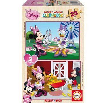 EDUCA Disney Minnie 2v1 - 25 dílků (8412668152793)