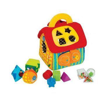 K's Kids Velký barevný domeček Patrick cena od 680 Kč