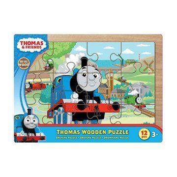 QUIDO BERGMANN Puzzle dřevěné na desce 12 ks cena od 195 Kč