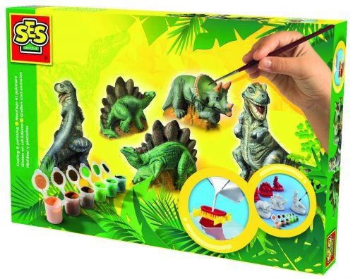 SES Sádrový trojkomplet dinosauři cena od 342 Kč