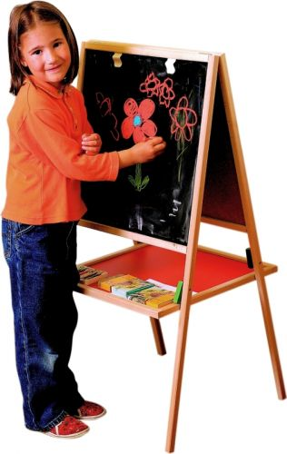 Woody Tabule natur rám s poličkou cena od 899 Kč