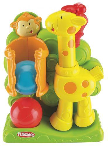 HASBRO Playskool - Interaktivní žirafa s vyskakujícími míčky