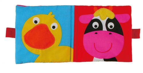 Galt Velká dětská knížka hlavy zvířátek 2 cena od 249 Kč