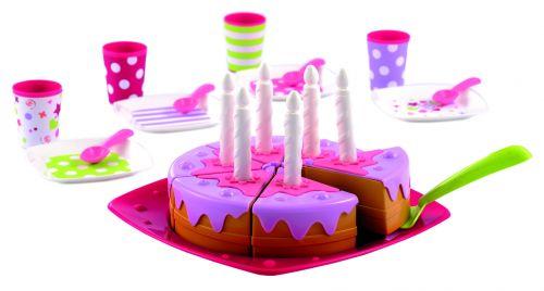 ECOIFFIER Narozeninový dort vč. příslušenství cena od 295 Kč