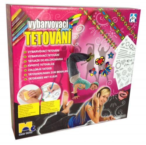 Mac Toys Tetování pro holky cena od 188 Kč