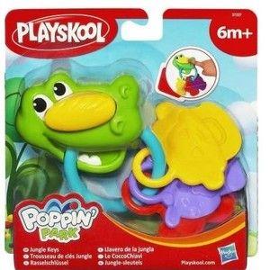 Hasbro Playskool Chrastítko se zvířátky cena od 0 Kč