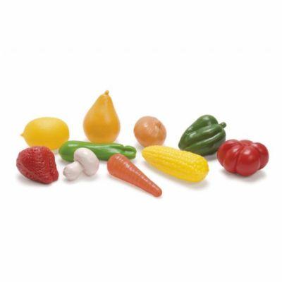 Dantoy Plastová zelenina a ovoce v síťce 10 ks