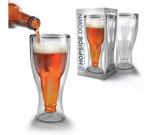 FRED & FRIENDS Hopside down Obrácená sklenice 33 cl cena od 220 Kč