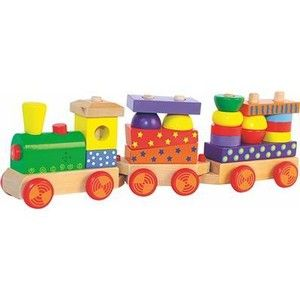Woody Skládací vlak se světlem cena od 419 Kč