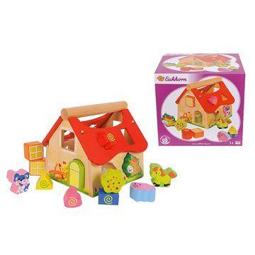 Simba Eichhorn Dřevěný veselý domeček cena od 395 Kč
