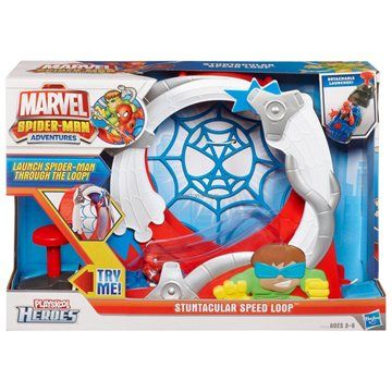 Hasbro Spiderman Dráha s autíčkem a figurkou cena od 0 Kč