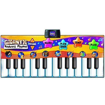 Alltoys Hrací podložka gigantické piáno