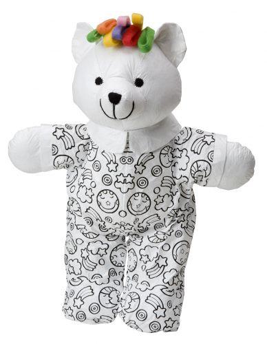 ALEXTOYS Vymaluj si medvídka 35 cm