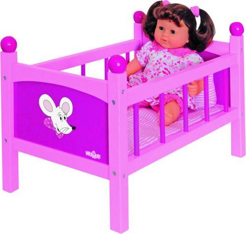 Woody Postýlka pro panenku s peřinkami Trendy cena od 799 Kč