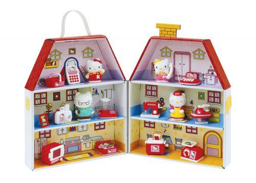 EPLINE Hello Kitty papírový domeček cena od 585 Kč