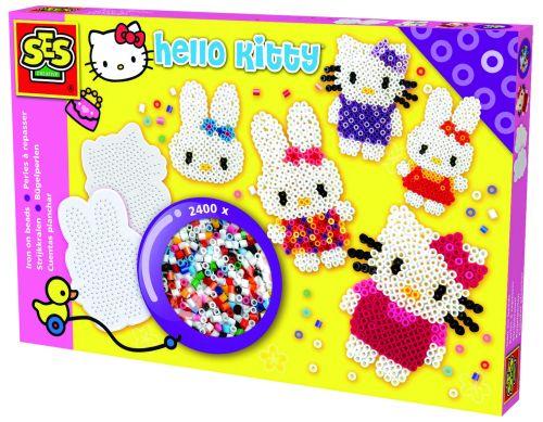 SES Zažehlovací korálky Hello Kitty cena od 0 Kč