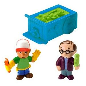Fisher Price Handy Manny figurky