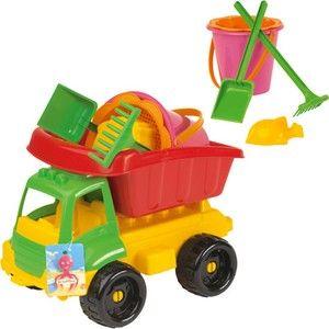 Ecoiffier Nákladní autíčko s formičkami cena od 220 Kč