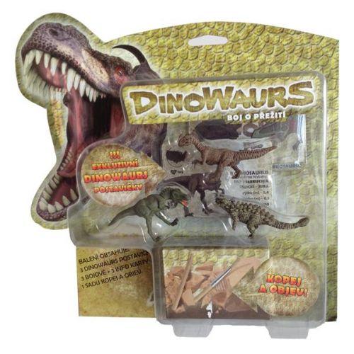 Dinowaurs Mac Toys boj o přežití cena od 139 Kč