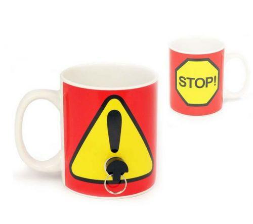 SPINNING HAT Plug Mug - Hrnek se zátkou