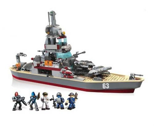 HASBRO Kre-O Battleship Missouri cena od 3290 Kč
